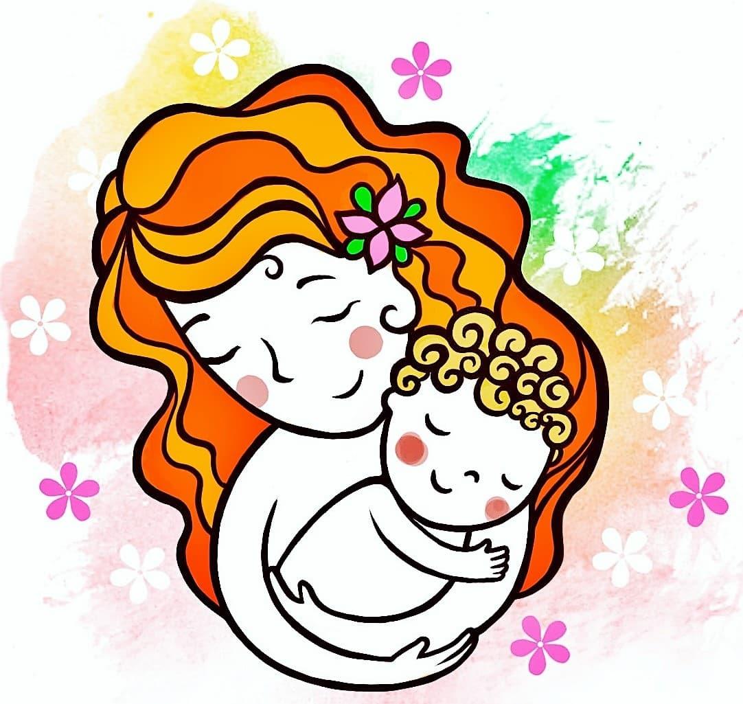 День матери рисунки